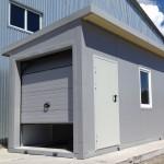 Модульный гараж для погрузчика