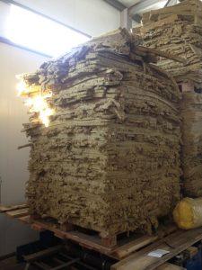 Отходы производства минеральной ваты